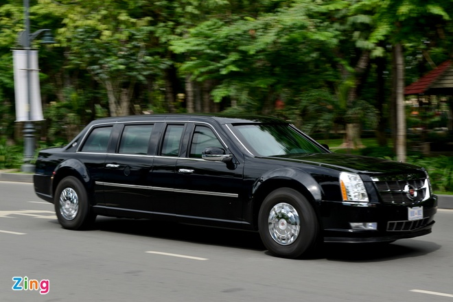 9 diem dac biet ve Cadillac One cua Tong thong Obama hinh anh 1