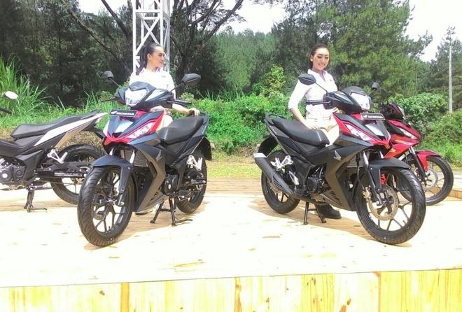 Honda Winner 150 co gia khoang 1.500 USD tai Indonesia hinh anh