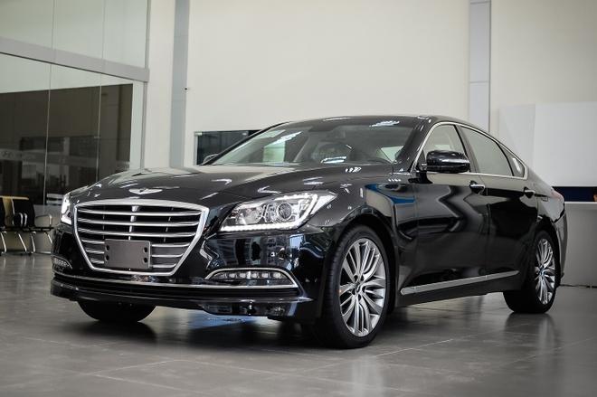 Hyundai Genesis sedan gia hon 2 ty tai Ha Noi hinh anh