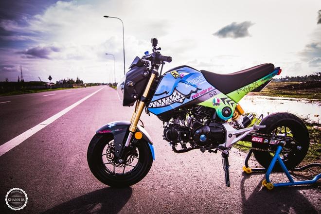 Honda MSX do tem ca map, len do choi cua biker Viet hinh anh
