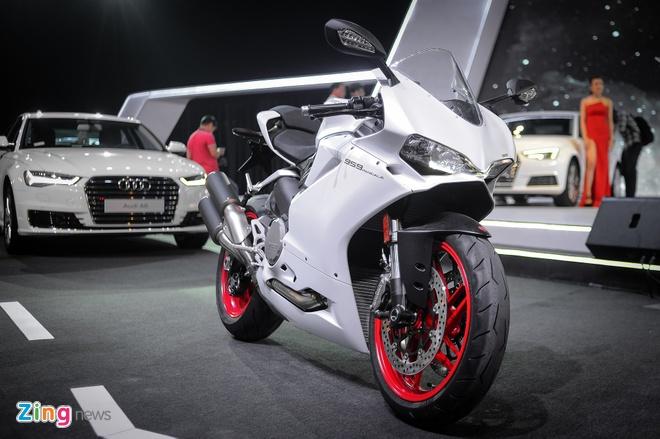 Chi tiet sieu moto Ducati 959 Panigale tai Ha Noi hinh anh 1