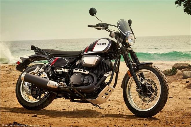 Yamaha ra mat xe hoai co thach thuc Ducati Scrambler hinh anh