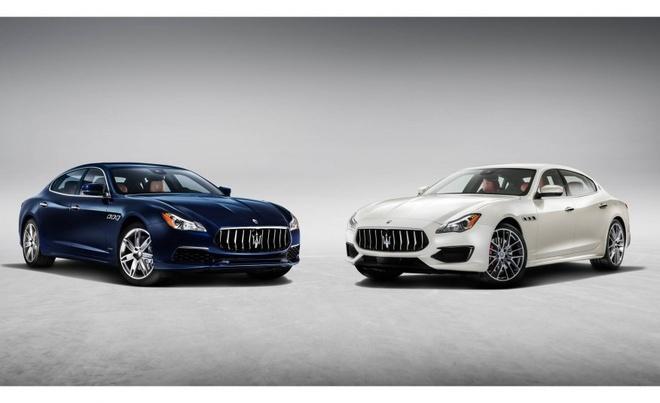 Doi thu cua Mercedes S-Class tu Maserati co ban nang cap hinh anh 1