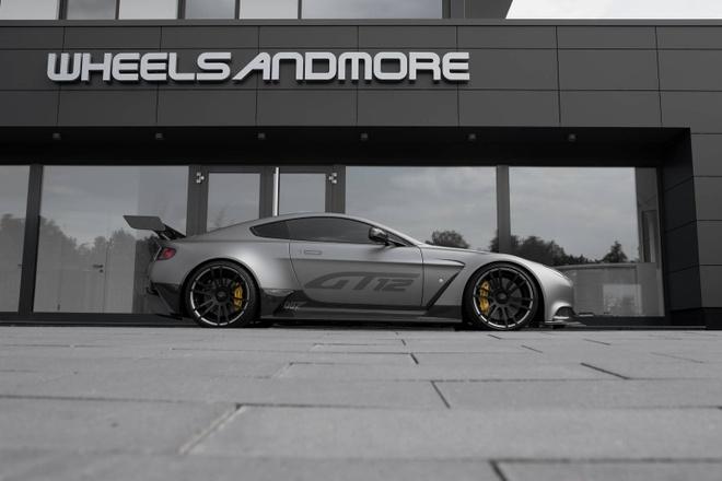 Xe the thao hang hiem Aston Martin do doc dao hinh anh 3