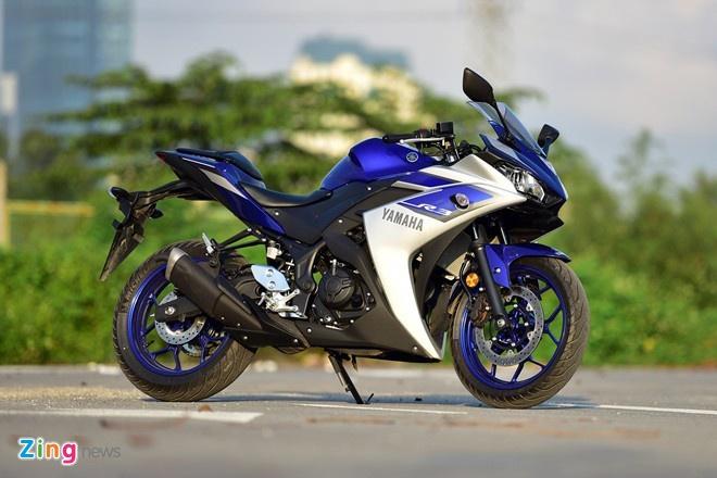 Yamaha Viet Nam trieu hoi hon 700 chiec YZF-R3 hinh anh 1