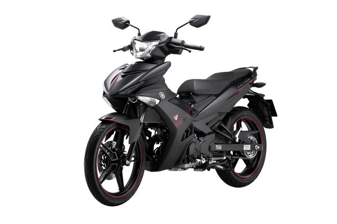 Yamaha Exciter 150 them mau son den nham tai Viet Nam hinh anh
