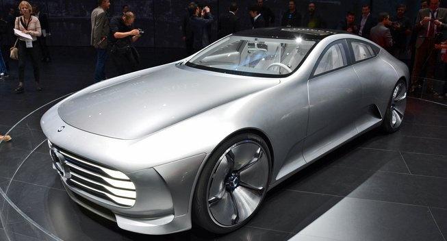Mercedes-Benz sap ra xe dien doi dau Tesla Model S hinh anh