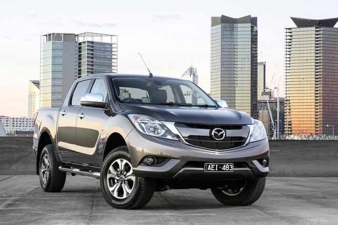 Mazda BT-50 moi phat trien tu Isuzu D-Max hinh anh