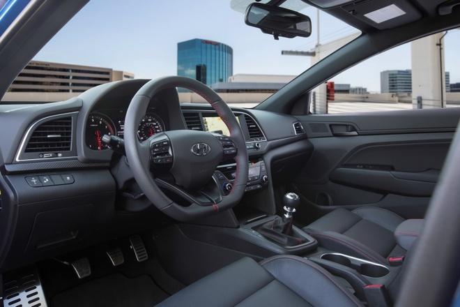 Hyundai Elantra Sport 2017 dung dong co tang ap tai My hinh anh 4