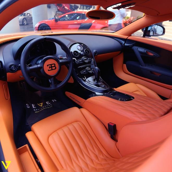 Bugatti Veyron Super Sport mau son doc duoc rao ban hinh anh 6