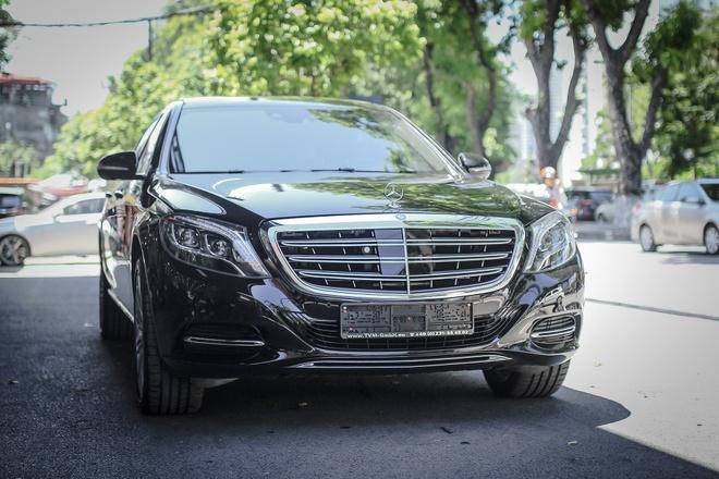 Chi tiet xe sang Mercedes-Maybach S500 tai Ha Noi hinh anh