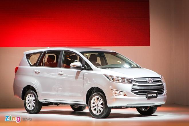 Toyota Innova 2016 ra mat tai Viet Nam, gia tu 793 trieu hinh anh 1