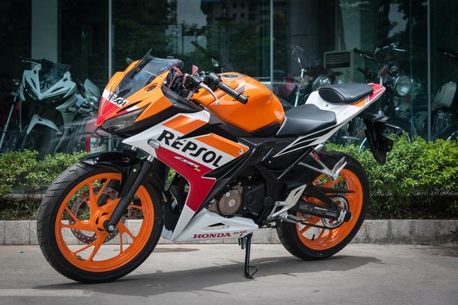 Honda CBR150R 2016 Repsol gia hon 100 trieu tai Ha Noi hinh anh