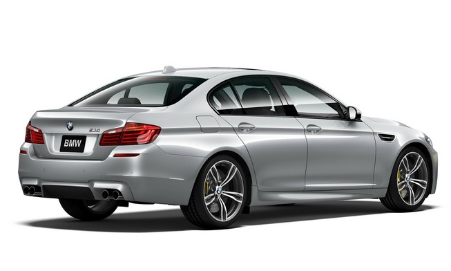 Sedan the thao BMW M5 them mau doc, so luong han che hinh anh 2