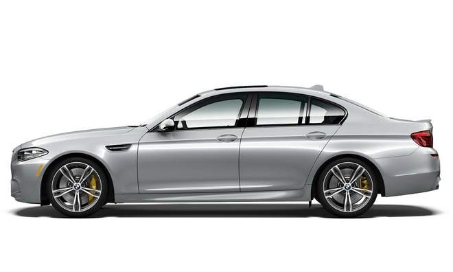 Sedan the thao BMW M5 them mau doc, so luong han che hinh anh 1