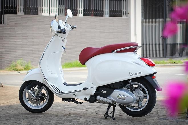 Vespa Primavera 125 ABS - xe tay ga an toan cho nu gioi hinh anh