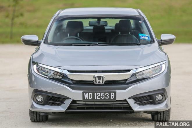 Honda Civic 2016 gia tu 28.000 USD tai Malaysia hinh anh 2