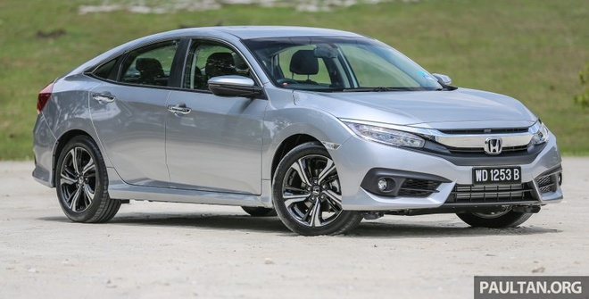 Honda Civic 2016 gia tu 28.000 USD tai Malaysia hinh anh 1