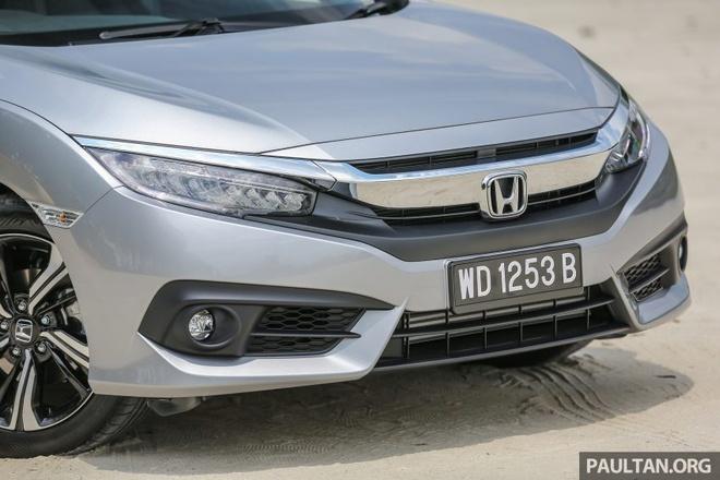 Honda Civic 2016 gia tu 28.000 USD tai Malaysia hinh anh 5