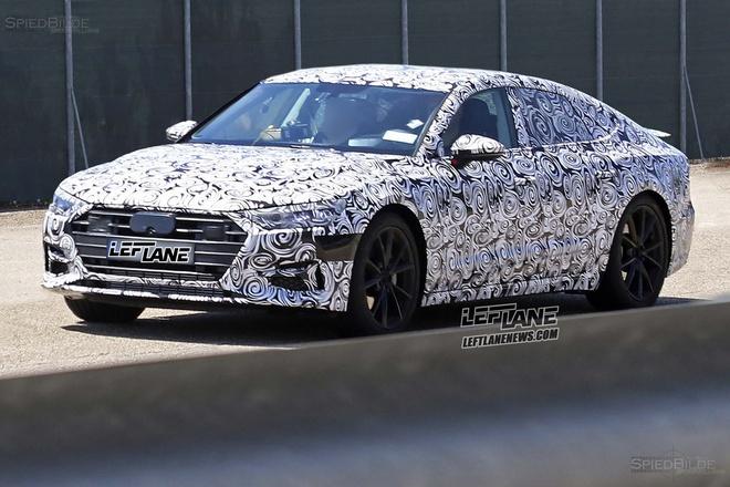 Audi A7 2018 xuat hien tren duong chay thu hinh anh