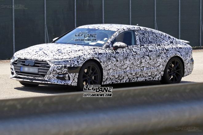 Audi A7 2018 xuat hien tren duong chay thu hinh anh 2