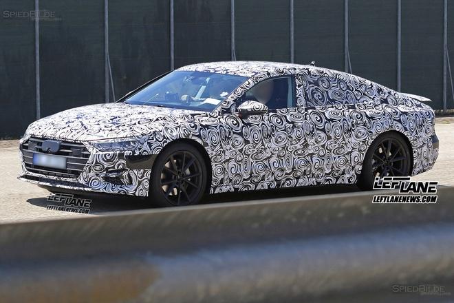 Audi A7 2018 xuat hien tren duong chay thu hinh anh 6