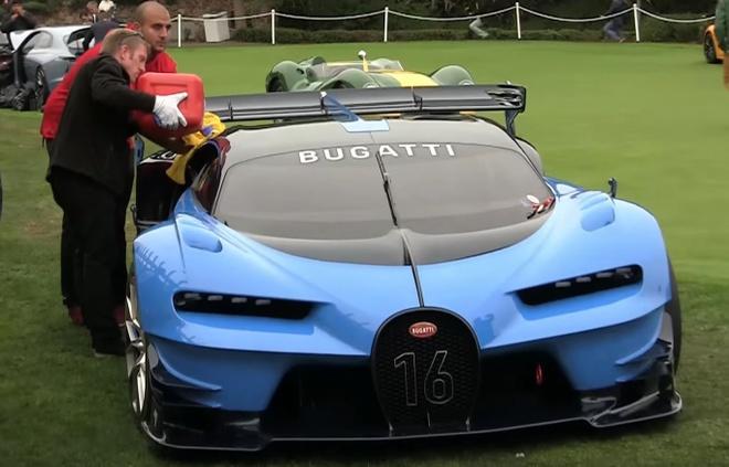 Sieu xe trieu do Bugatti Vision Gran Turismo het xang hinh anh