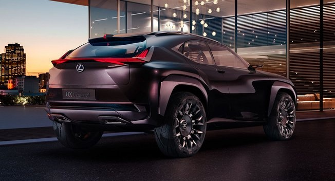 Lexus he lo mau crossover moi dang y tuong hinh anh