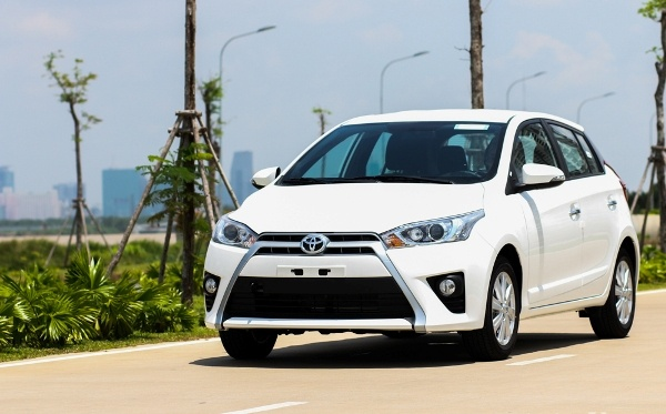 Toyota Yaris 2016 trang bi dong co moi ra mat tai Viet Nam hinh anh