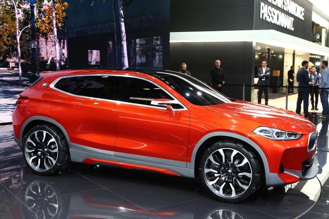 BMW X2 Concept ra mat tai Paris Motor Show hinh anh 1