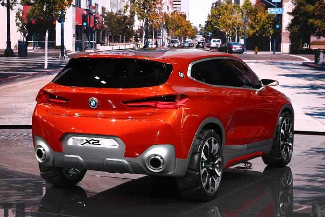 BMW X2 Concept ra mat tai Paris Motor Show hinh anh 6