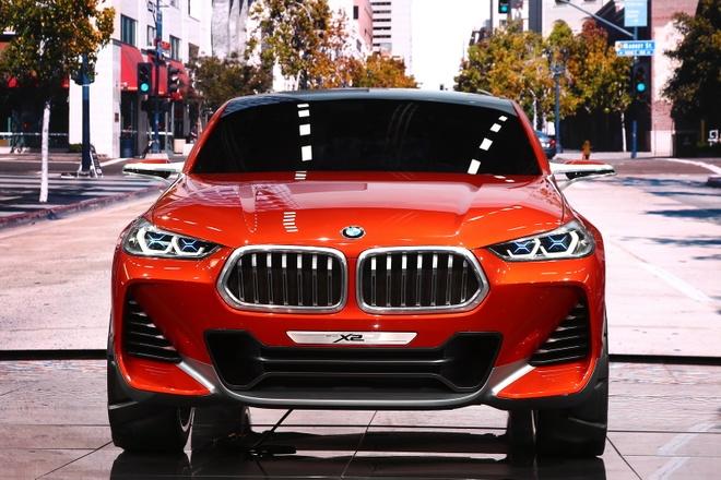 BMW X2 Concept ra mat tai Paris Motor Show hinh anh 2