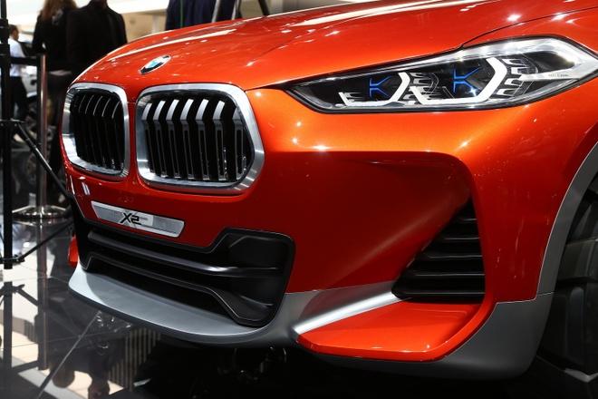 BMW X2 Concept ra mat tai Paris Motor Show hinh anh 4