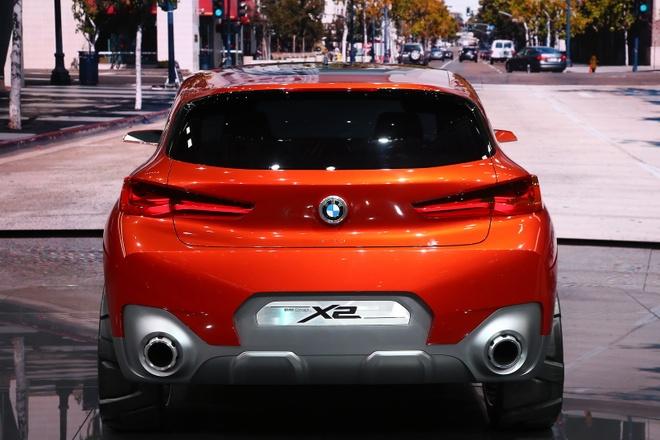 BMW X2 Concept ra mat tai Paris Motor Show hinh anh 5