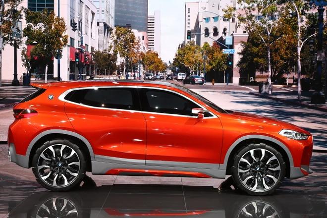BMW X2 Concept ra mat tai Paris Motor Show hinh anh 3