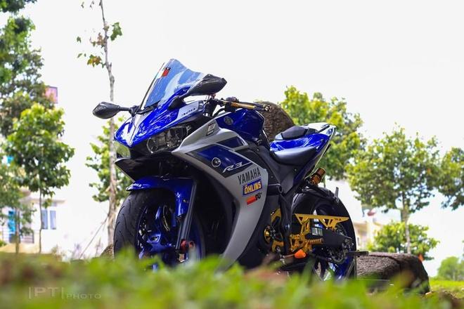 Yamaha YZF-R3 len nhieu do choi cua biker Viet hinh anh