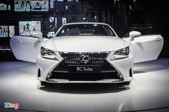 Lexus RC Turbo trinh lang tai Viet Nam anh 1