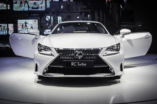 Lexus RC 200t xe sang 2 cua duy nhat tai Vietnam Motor Show hinh anh