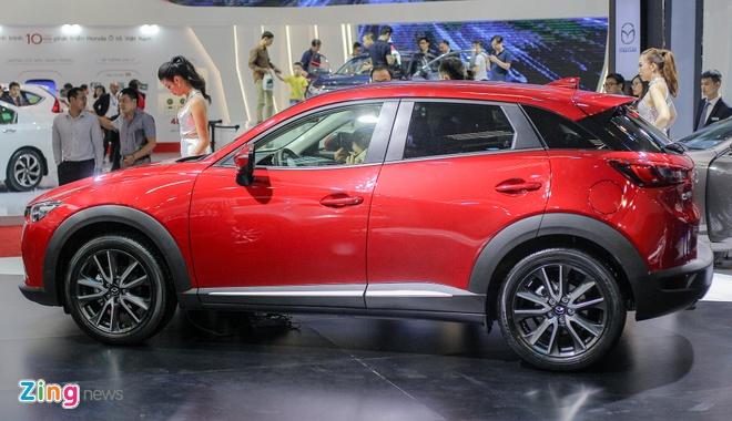 Chi tiet Mazda CX-3 - doi thu Ford EcoSport tai Viet Nam hinh anh 2