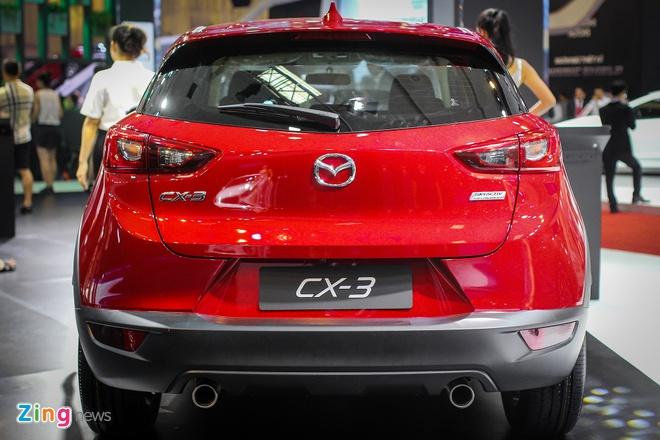Chi tiet Mazda CX-3 - doi thu Ford EcoSport tai Viet Nam hinh anh 5