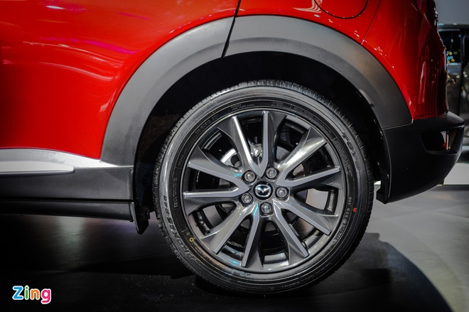 Chi tiet Mazda CX-3 - doi thu Ford EcoSport tai Viet Nam hinh anh 6