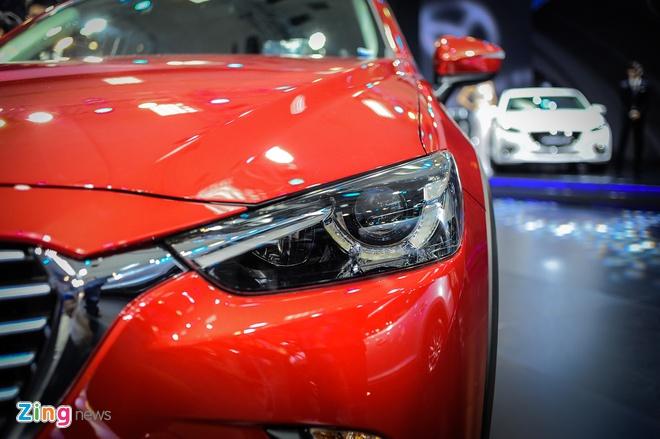 Chi tiet Mazda CX-3 - doi thu Ford EcoSport tai Viet Nam hinh anh 4