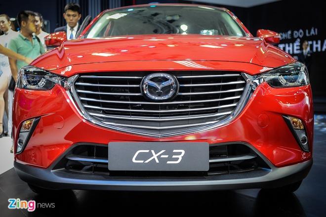 Chi tiet Mazda CX-3 - doi thu Ford EcoSport tai Viet Nam hinh anh 3