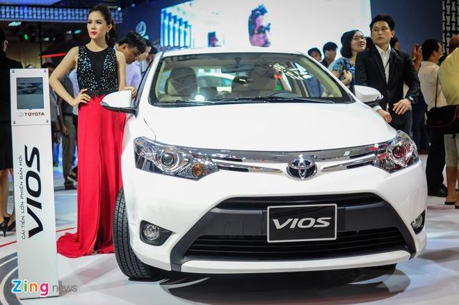 Toyota Vios 2016 ra mat tai VN, gia tu 532 trieu dong hinh anh 1