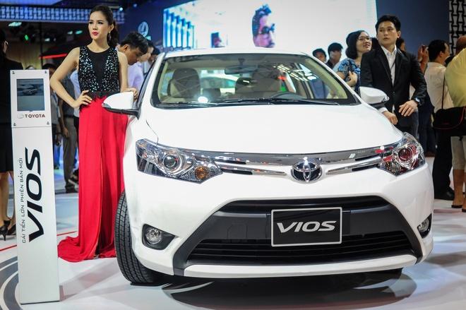 Toyota Vios 2016 ra mat tai VN, gia tu 532 trieu dong hinh anh