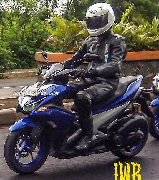 Xe thay the Yamaha Nouvo lo anh chay thu hinh anh 2