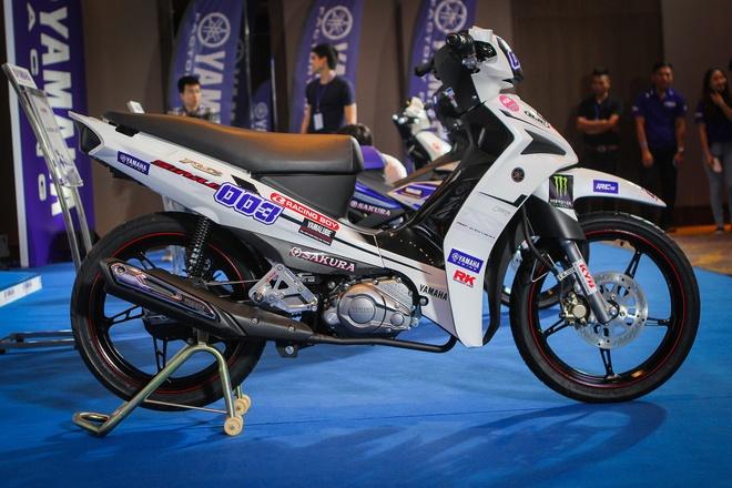 3 xe dua Yamaha chinh hang tai Viet Nam hinh anh