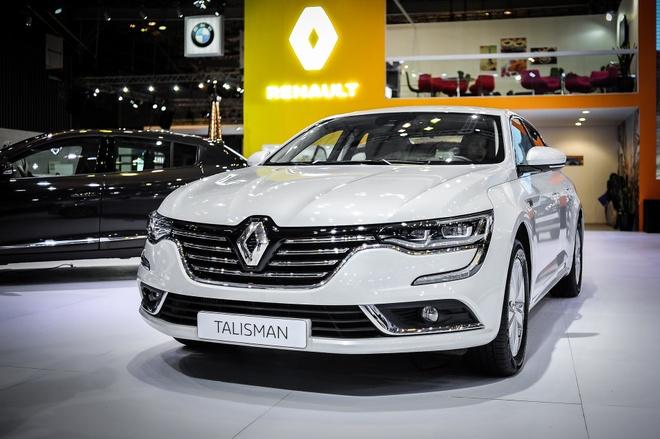Renault Talisman - sedan Phap gia 1,5 ty tai Viet Nam hinh anh