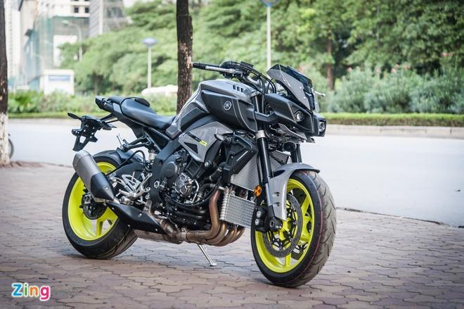 Moto Yamaha 1.000 phan khoi mau doc tai Ha Noi hinh anh