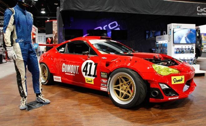 Xe the thao Toyota 86 gan dong co Ferrari hinh anh 1